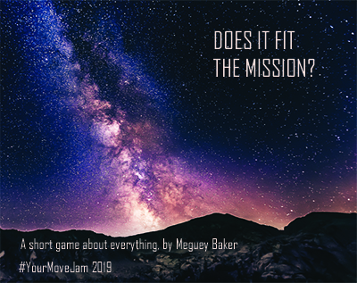 A photo of stars and space: Does it Fit the Mission?