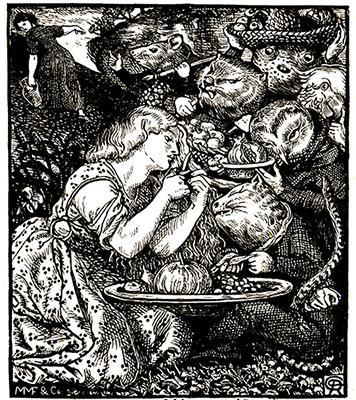The Goblin Market by Dante Gabriel Rosetti